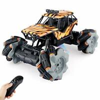 Baztoy Kids RC Stunt Cars Toys for 3 4 5 6 7 8 9-12 Year Old Boys Girls Toddlers