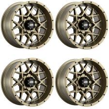 4 ATV/UTV Wheels Set 14in ITP Hurricane Bronze 4/110 5+2 IRS