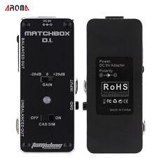Aroma guitar pedal Tom's Line Engineering AMX-3 MATCHBOX D.I.