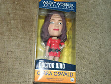 CLARA OSWALD DOCTOR WHO BOBBLE HEAD 16cm QUALITY COLLOCTORS ITEM BNIB