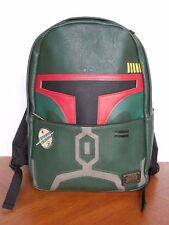 Loungefly STAR WARS BOBA FETT Helmet Premium Backpack