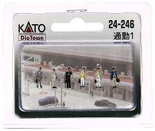 KATO 24-246 N Scale Gauge Diorama 6 personnages homme affaire - Train Decoration