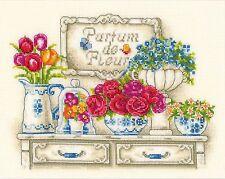VERVACO  0012172  Parfum de Fleurs  Aïda  Broderie  Point de Croix  compté