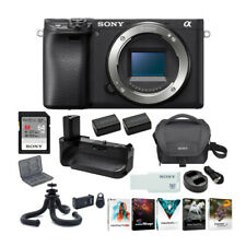Sony a6400 Mirrorless Digital Camera Body Only Ultimate Bundle