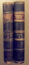 Oliver Goldsmith. A History of the Earth and Animated Nature. 2 Volumes. 1864