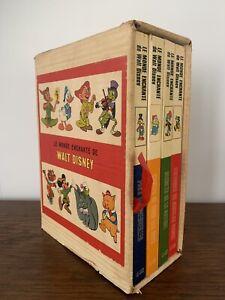 Le Monde Enchanté de Walt Disney Coffret de 4 Volumes