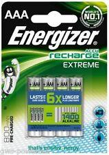 12 x Energizer AAA Akku 800mAh Extreme HR03 Blister OVP Micro Accu NEU Telefon