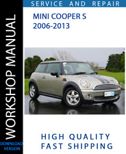 BMW MINI COOPER S R56 N14 1.6L 2006-2013 WORKSHOP SERVICE REPAIR MANUAL