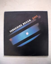 TANGERINE DREAM - Exit - Virgin VIL 12212 - KRAUT ROCK - POSTER INSIDE
