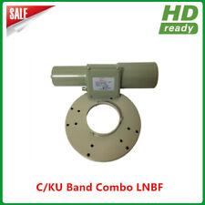 Hot sales High Gain Low noise Universal Dual Band C/Ku Combo LNB LNBF