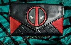Deadpool Marvel Clutch Chain Handbag Wallet