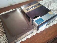 84 NIV  CLASSIC STUDY BIBLE New in Box Leather 1984 New International  SB B13C