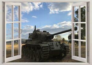 Tanks War Army Military 3D Wall Sticker Art Poster Decals Murals Room Z482