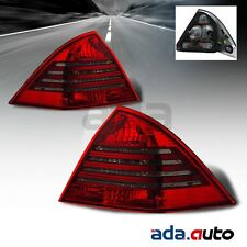 2001-2004 Mercedes Benz W203 C-Class C240/C320/C32 AMG Red Smoke Tail Lights