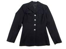 USN US Navy Womens Military Service Uniform Dress Blue Jacket Coat 10 Long