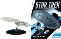 Eaglemoss Diecast Star Trek USS Enterprise NCC-1701-D #01 ***NO MAGAZINE***