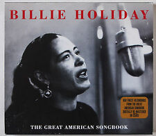 BILLIE HOLIDAY / THE GREAT AMERICAN SONGBOOK / 2 CD SET / 47 TRACKS REMASTERED