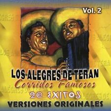 FREE US SHIP. on ANY 2 CDs! ~Used,VeryGood CD Alegres De Teran: Corridos Famosos