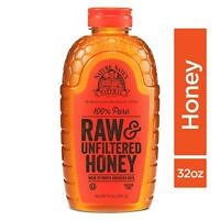 Nature Nate�s 100% Pure Raw & Unfiltered Honey; 32-oz. Squeeze Bottle; Certif...