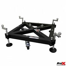 ProX XT-GSB MK2 Universal Truss Ground Support on Wheels with Leveling Jacks ...