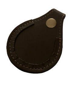 NEW HAND MADE LEATHER TOE PAD PROTECTOR BARREL REST SHOOTING SHOTGUN GAME PIGEON