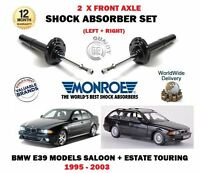 FOR BMW 520 523 525 528 530 E39 1995 > 2X FRONT LEFT + RIGHT SHOCK ABSORBER SET