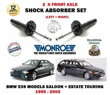 PER BMW E39 520D 525TD 530D 1995-2004 2x Ant Sx + AMMORTIZZATORE DX Set