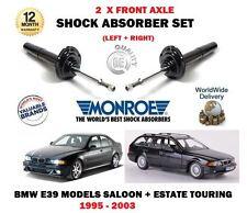 FOR BMW E39 520D 525TD 530D 1995-2004 2X FRONT LEFT + RIGHT SHOCK ABSORBER SET
