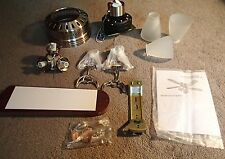 """*New* 42"""" Ceiling Fan C350310 Reversible Cherry/Maple Blades Brushed Nickel 120V"""