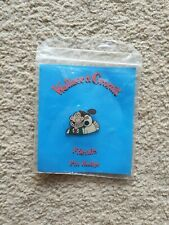 Wallace And Gromit -  Friends Pin Badge 1989