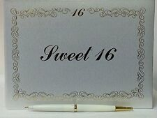 Sweet 16 Signature Guest Book Reception Party Keepsake Gift