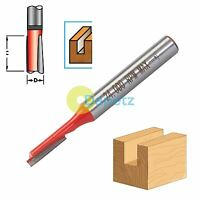 "1/4"" Shank Straight Metric Cutter Router Bits Woodwork 12mm Long x 4mm Diameter"