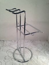 Modern Metal Chrome Stand Necklace Bracelet Display Stand Counter Stand