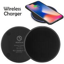 Qi Wireless Ladestation Ladegerät kabellos Induktion Apple iPhone XS Max XR X 8