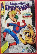 Spider-Man 57 Marvel Silver Age 1968 Ka-Zar App fn/vfn