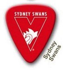 Sydney Swans Guitar Picks 5 Pack, Official AFL Product