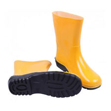Yellow Womens Ladies Wellies Wellington Boots Rain Boots Gardening All Sizes