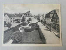 Pegnitz beschr. 1953 Dorfstrasse Marktplatz