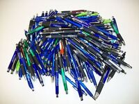Lot of 175 Pieces - Wholesale Misprint Plastic Retractable Pens