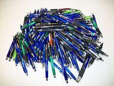Lot Of 175 Pieces Wholesale Misprint Plastic Retractable Pens