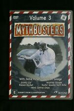 Mythbusters : Volume 3 (DVD, 2003) R 4   Pre-owned (D509