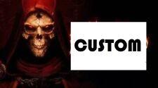 CUSTOM ORDER (Runes/items) - DIABLO 2 RESURRECTED Softcore SC