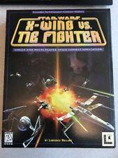 Star Wars X-Wing Vs.TIE fighter PC CD ROM Combat simulation Lucas 1997