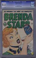 Brenda Starr #8 Superior Pub 1949 CANADIAN EDITION, CGC 8.5 (VERY FINE +)
