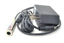 405nm 50mW Violet Focus Adjustable Blue Laser Module Lazer Diode w/AC Adapter