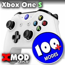 XBOX ONE S MODDED CONTROLLER, ORIGINAL BLUE, PRO MOD RAPID FIRE,  XMOD 100 MODE