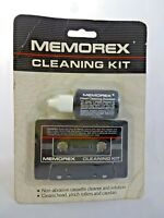 Memorex Cassette Head Cleaning Kit w Solution New Old Stock