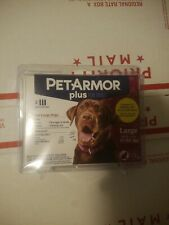 PetArmor Plus For Dogs Large 45 to 88 Lbs - 3 Applications - Free Shipping
