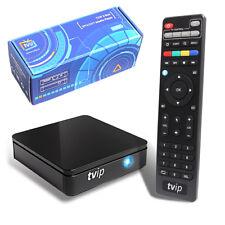 TVIP 412 S-BOX IPTV Stalker Portal M3U HEVC H.265 middelware Stream Media Play