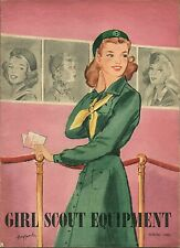 SPRING 1945 GIRL SCOUT EQUIPMENT CATALOG - 31 PAGES - SCARCE WW II LISTINGS